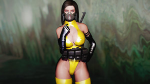 Skimpy Assassin Outfit