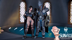 Lich King and Queen Armor