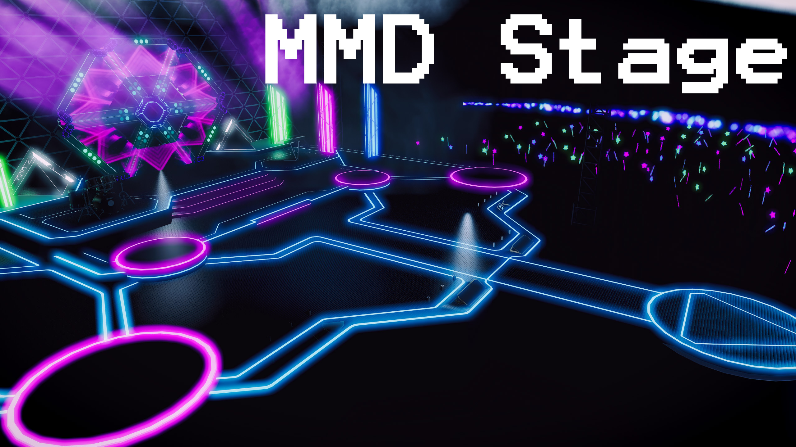 MMD Stage