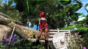 DX Gwelda Red Riding Hood Outfit