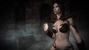 Warhammer Sorceress Robes
