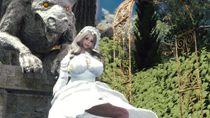 Dark Souls - Gwynevere Princess of Sunlight - Follower and Outfit