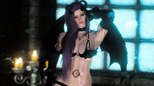 Bewitching Heart Succubus Outfit
