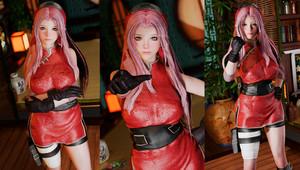 Sakura Outfit