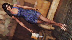 Black Lace Mini Dress Collection