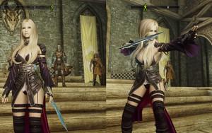Vampire leather armor set