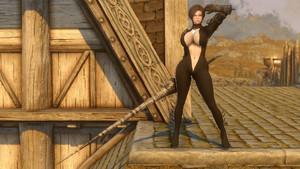 Ebony Battle Armor & Weapons